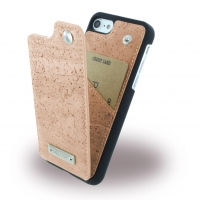 Pelcor - Cork Flip Phone Case - Apple iPhone 7, 8