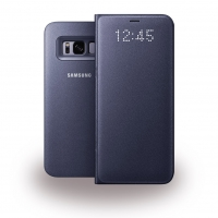Samsung - EF-NG950PV - LED View Cover / Book Case - G950F Galaxy S8