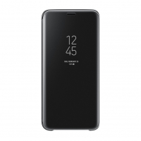 Samsung - EF-ZG960CB Clear View Standing Cover - G960F Galaxy S9