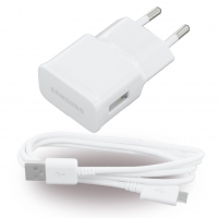 Samsung - ETAOU83EWE - Charger / Adapter + Cable - USB - 1000mA