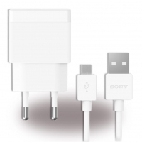 Sony - EP881 USB Charger + Cable USB to Micro USB