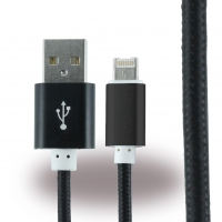 2 in 1 Cable - USB Charging Cable / Data Cable - 1m - Micro USB + Apple Lightning to USB