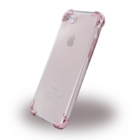 UreParts - Pink Corner Silikon Cover / Handyhülle - Apple iPhone 7