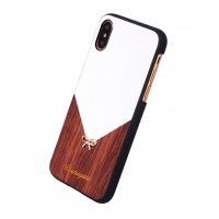 Uunique - Rose Wood - Hard Shell Cover - Apple iPhone X