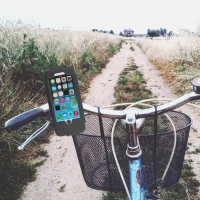 Phone Mount - Water Repellent Phone Cradle / Bike Phone Holder - Apple iPhone  6, 6s