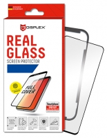 Displex -  Real Glass 3D 0,33mm+Case - Samsung Galaxy S10 -  Screen glass Protectors