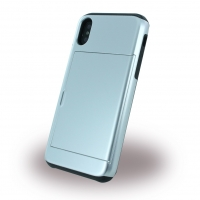 Slid Style - Card Slot Hard Cover - Apple iPhone X